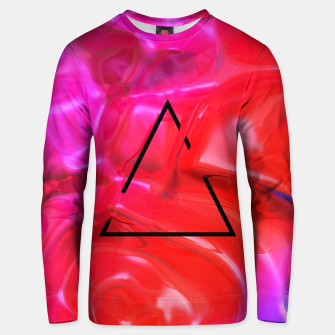 Thumbnail image of Translucent Iridescent Art Unisex sweater, Live Heroes