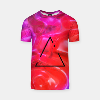 Thumbnail image of Translucent Iridescent Art T-shirt, Live Heroes