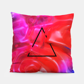 Thumbnail image of Translucent Iridescent Art Pillow, Live Heroes