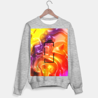 Thumbnail image of  Translucent Iridescent Art Sweater regular, Live Heroes