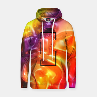Thumbnail image of  Translucent Iridescent Art Hoodie, Live Heroes