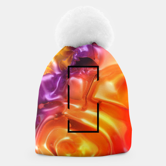 Thumbnail image of  Translucent Iridescent Art Beanie, Live Heroes