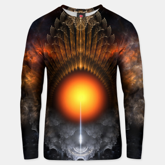 Thumbnail image of The Dream Orb Fractal Fantasy Art Unisex sweater, Live Heroes