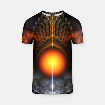 Thumbnail image of The Dream Orb Fractal Fantasy Art T-shirt, Live Heroes