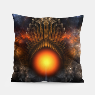 Thumbnail image of The Dream Orb Fractal Fantasy Art Pillow, Live Heroes