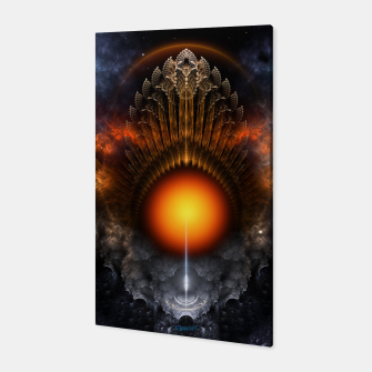 Thumbnail image of The Dream Orb Fractal Fantasy Art Canvas, Live Heroes
