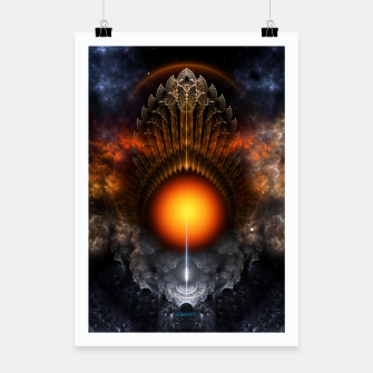 Thumbnail image of The Dream Orb Fractal Fantasy Art Poster, Live Heroes
