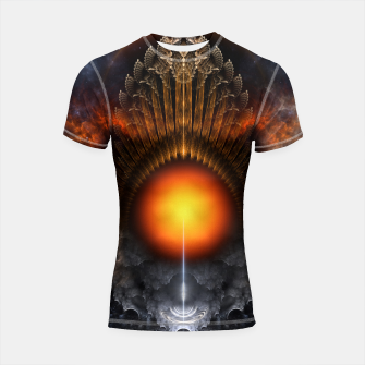 Thumbnail image of The Dream Orb Fractal Fantasy Art Shortsleeve rashguard, Live Heroes