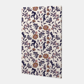 Thumbnail image of Western floral garden Canvas, Live Heroes