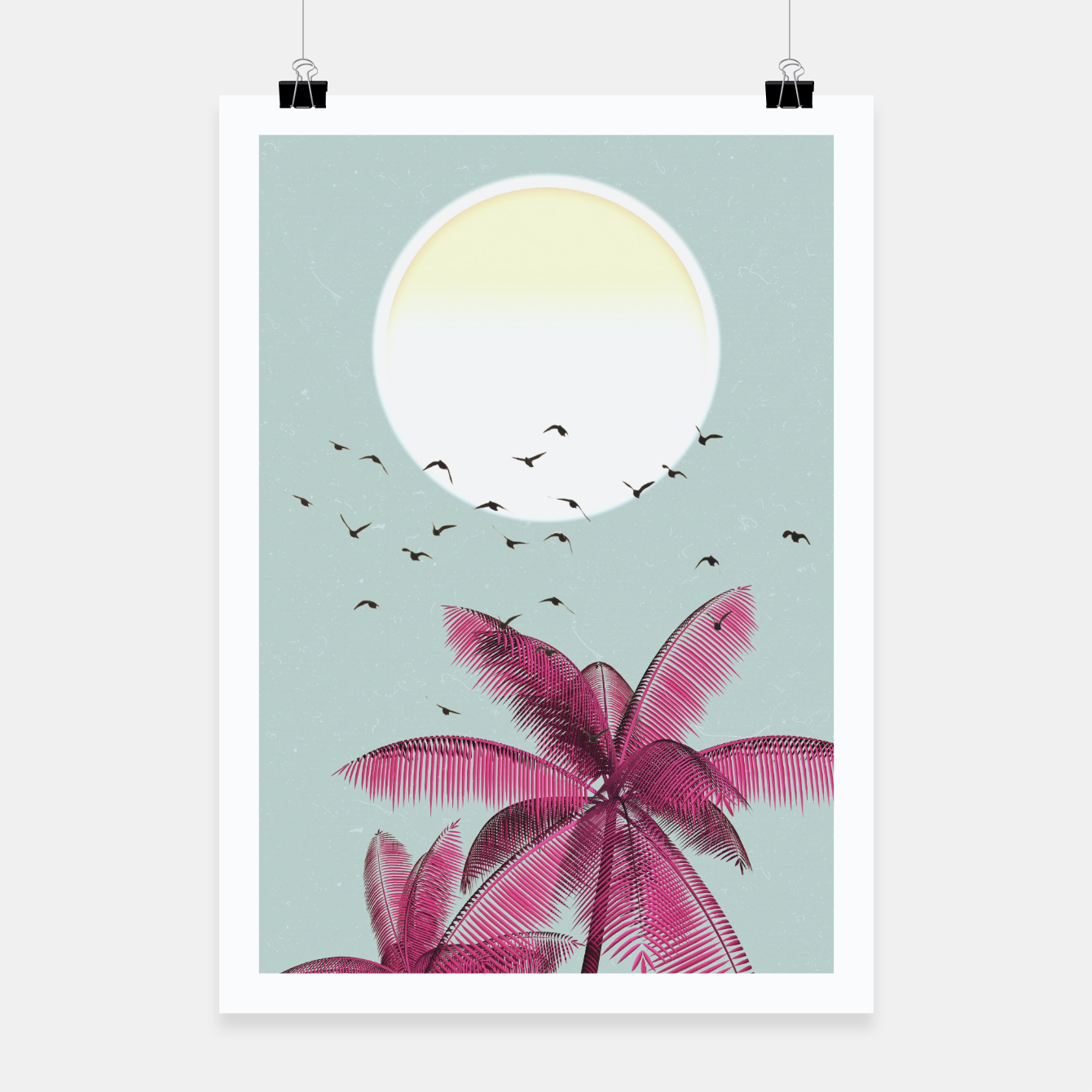 Foto Minimal Sun Poster - Live Heroes