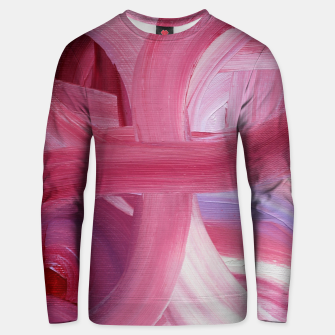 Thumbnail image of Rose petals Unisex sweater, Live Heroes