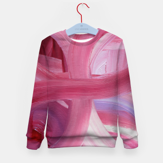 Thumbnail image of Rose petals Kid's sweater, Live Heroes