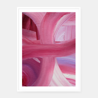 Thumbnail image of Rose petals Framed poster, Live Heroes