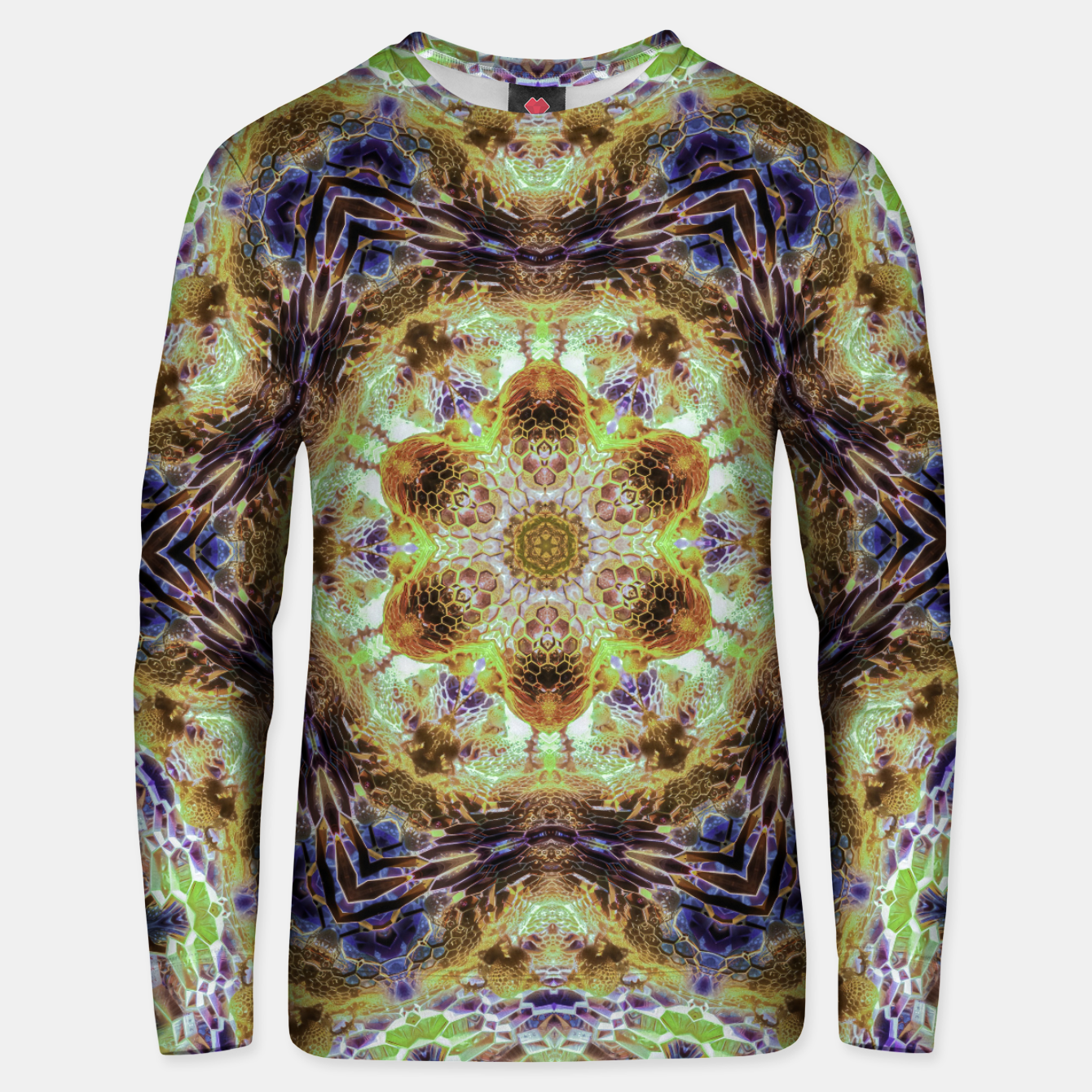 Image of Honeycombs Unisex sweater - Live Heroes