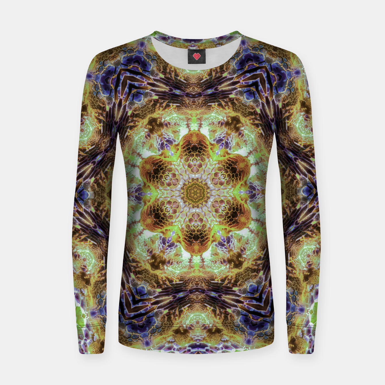 Image of Honeycombs Women sweater - Live Heroes