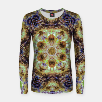 Thumbnail image of Honeycombs Women sweater, Live Heroes