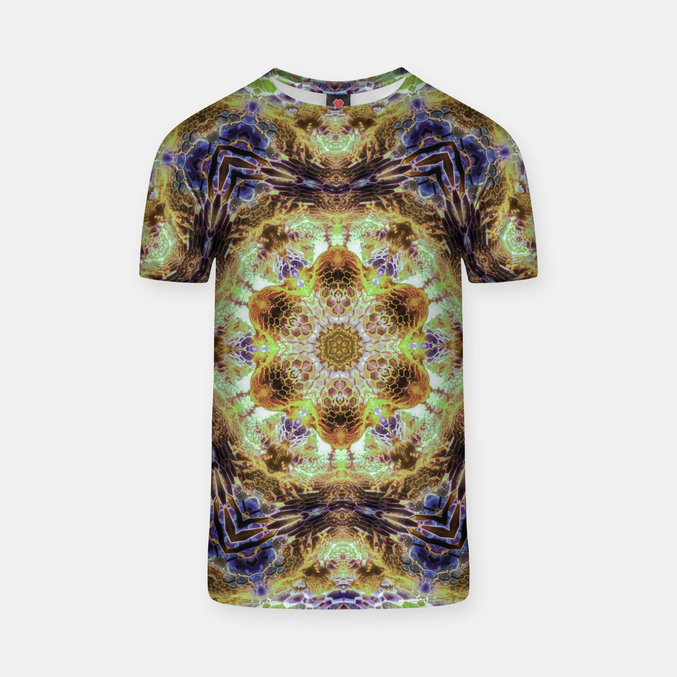 Image of Honeycombs T-shirt - Live Heroes