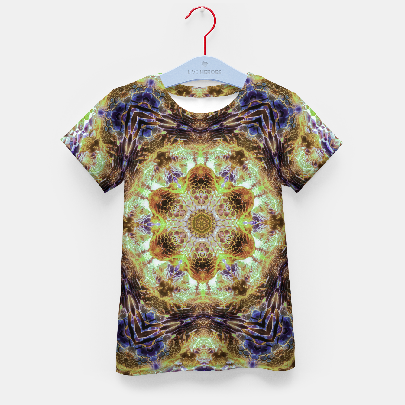 Image of Honeycombs Kid's t-shirt - Live Heroes