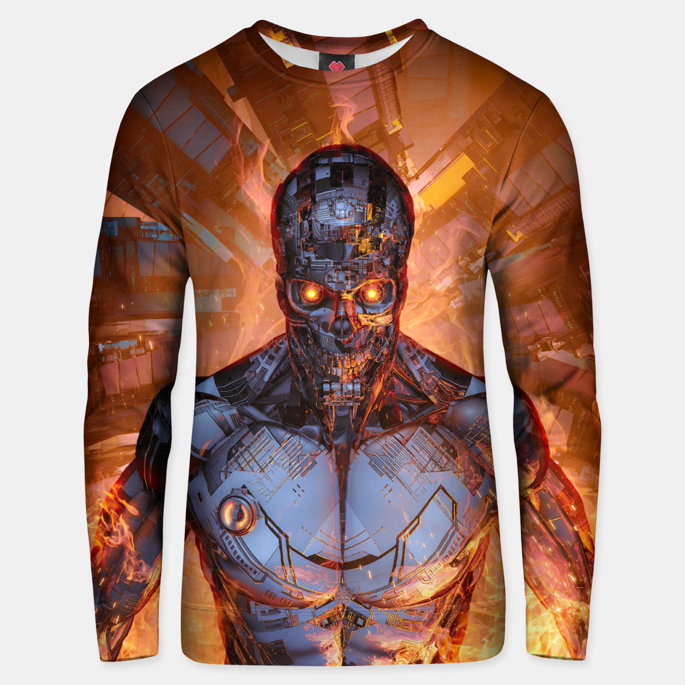 Image of The Fury Unisex sweater - Live Heroes
