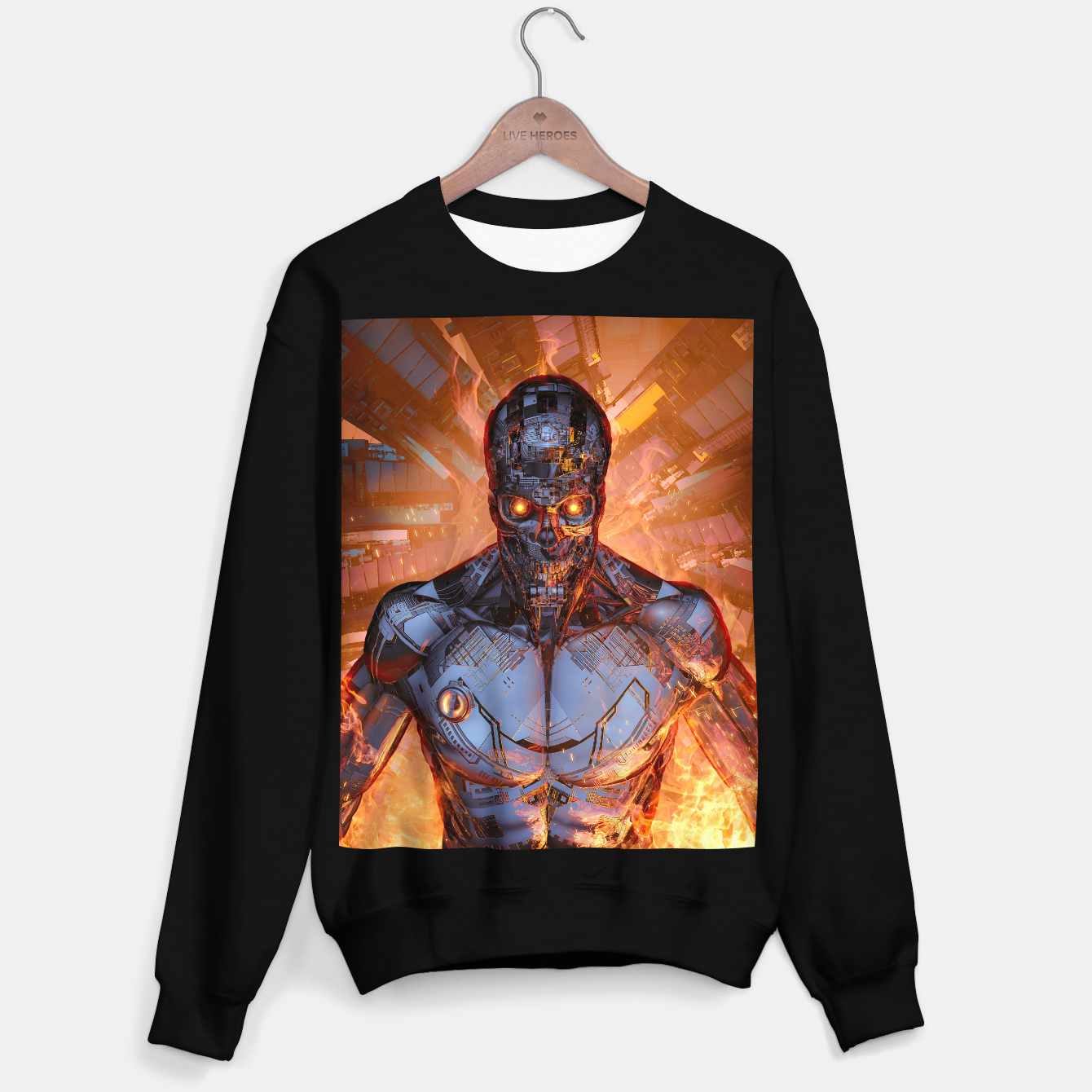 Image of The Fury Sweater regular - Live Heroes
