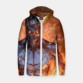 Thumbnail image of The Fury Zip up hoodie, Live Heroes