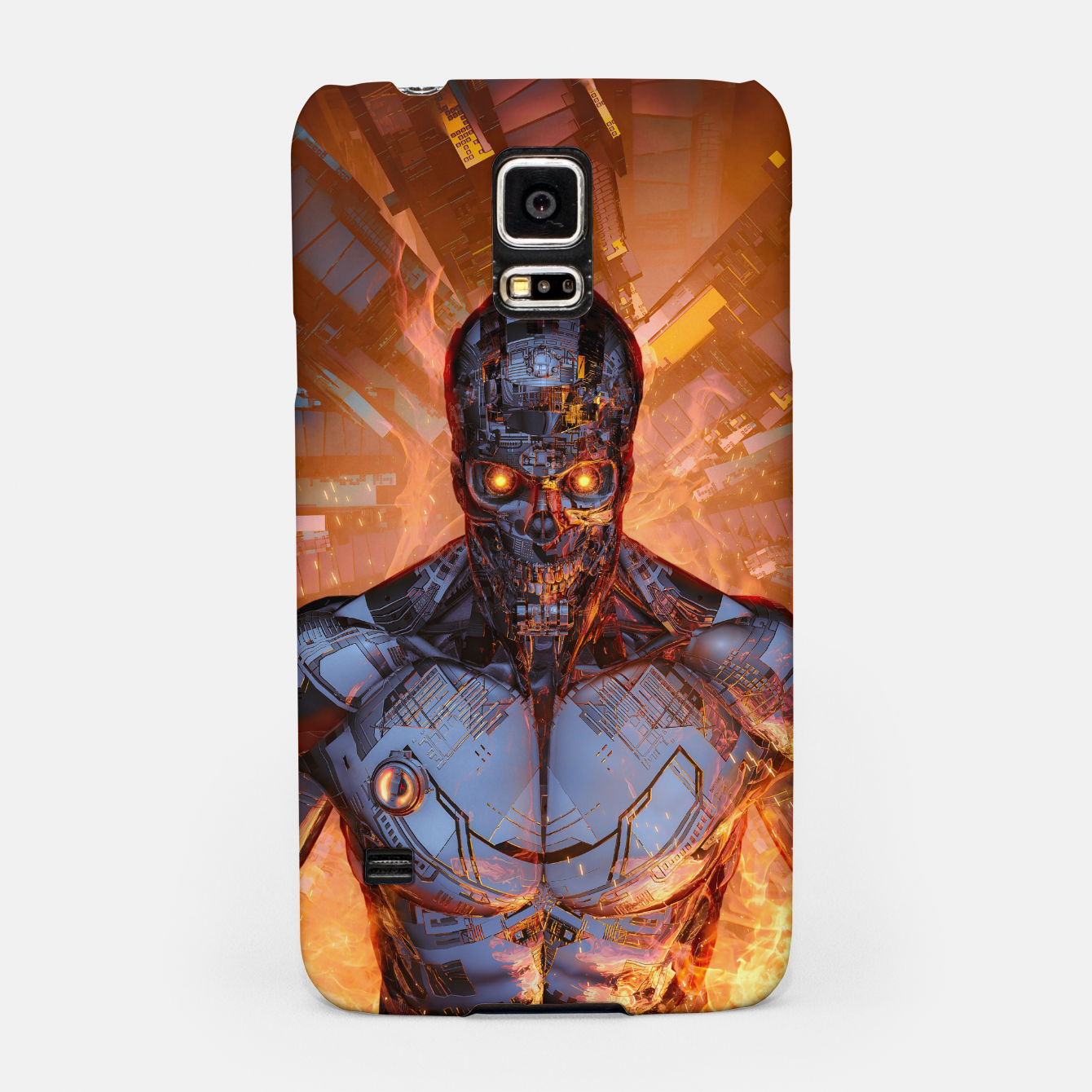 Image of The Fury Samsung Case - Live Heroes
