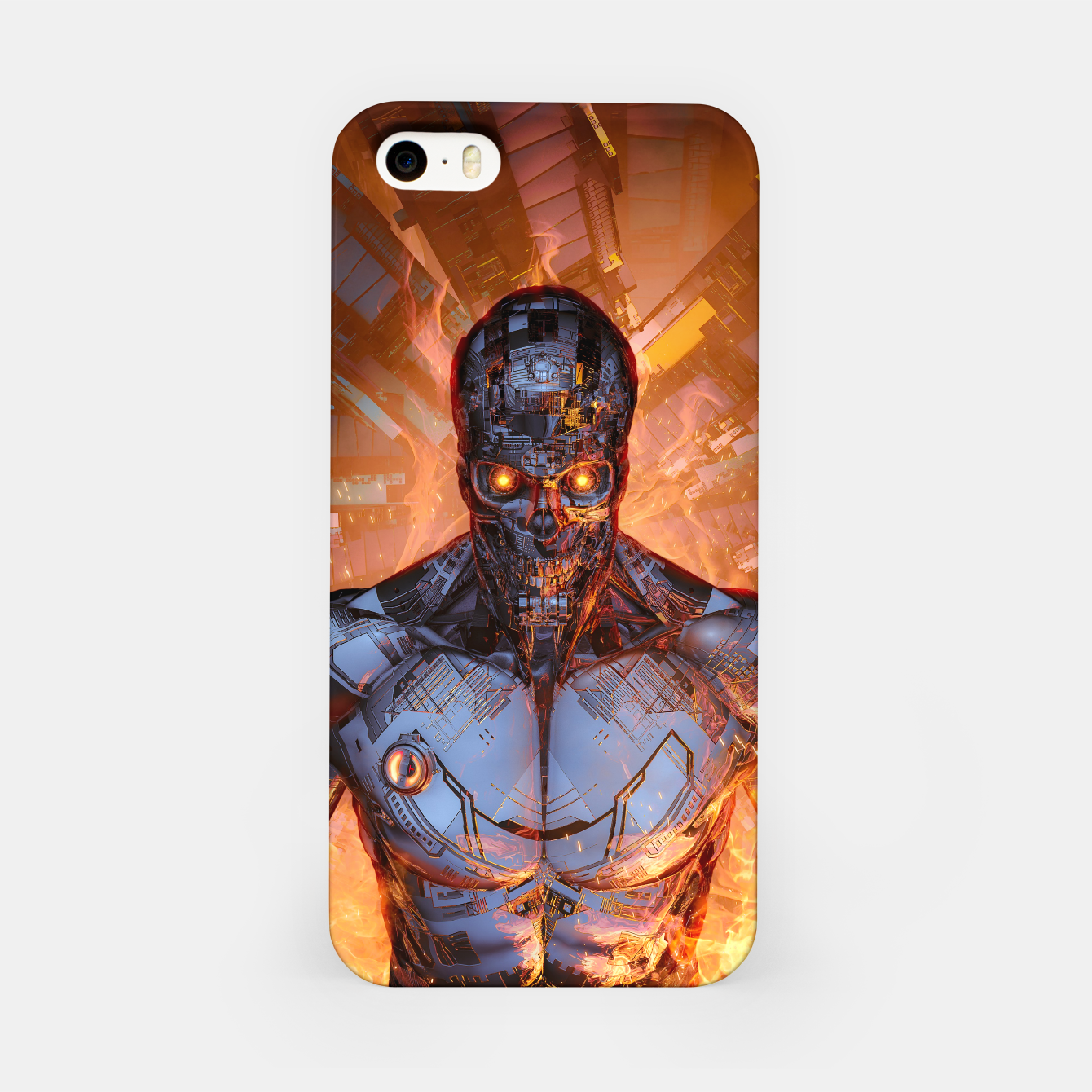 Image of The Fury iPhone Case - Live Heroes