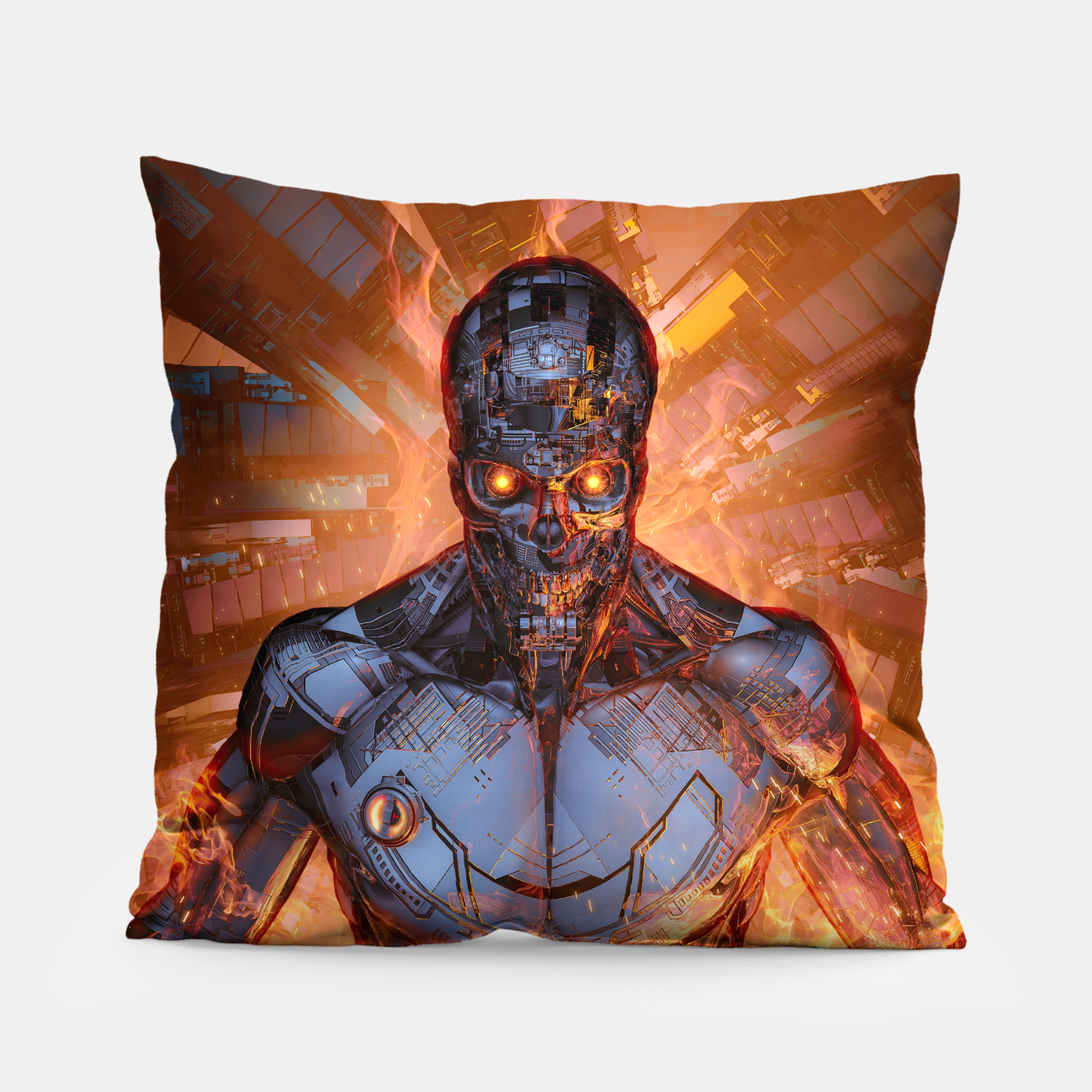 Image of The Fury Pillow - Live Heroes