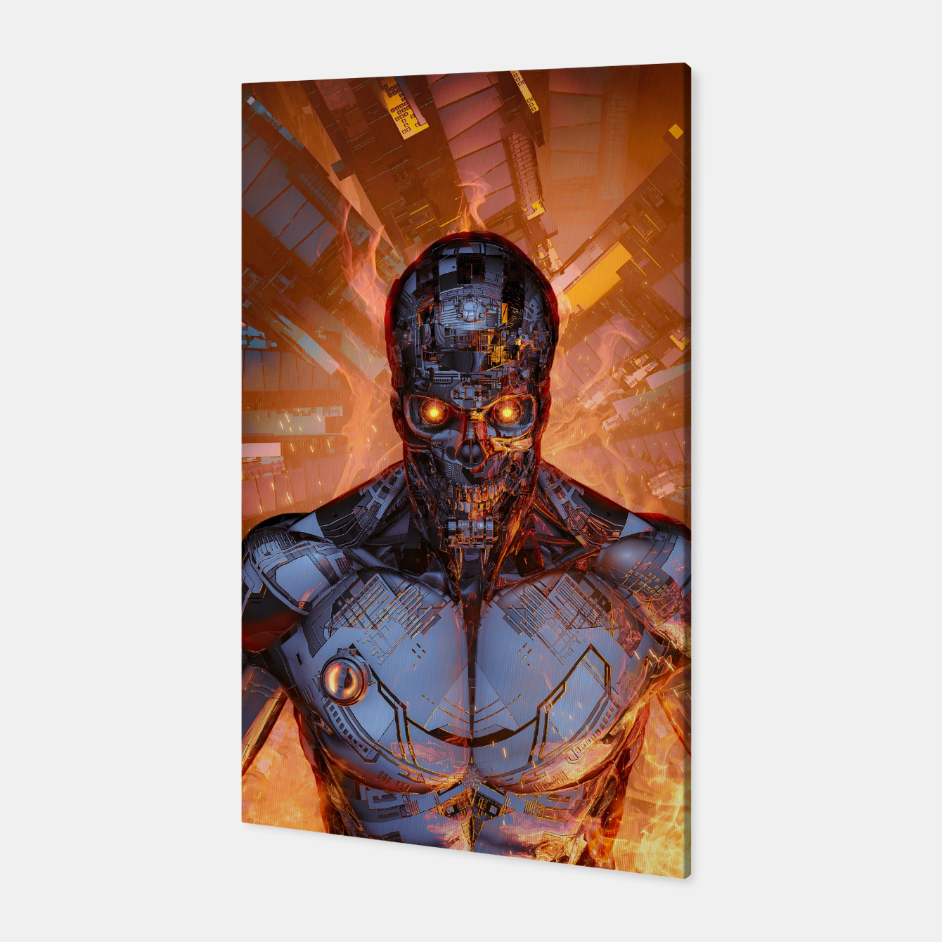 Image of The Fury Canvas - Live Heroes