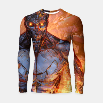 Thumbnail image of The Fury Longsleeve rashguard , Live Heroes