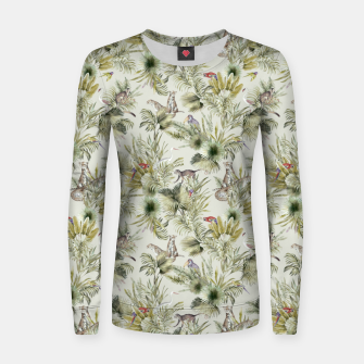 Thumbnail image of Wild nature jungle 75 Sudadera para mujeres, Live Heroes