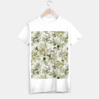 Thumbnail image of Wild nature jungle 75 Camiseta Regular, Live Heroes