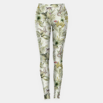 Thumbnail image of Wild nature jungle 75 Leggings, Live Heroes