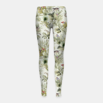 Thumbnail image of Wild nature jungle 75 Leggings para niña, Live Heroes