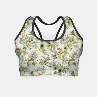 Thumbnail image of Wild nature jungle 75 Crop Top, Live Heroes