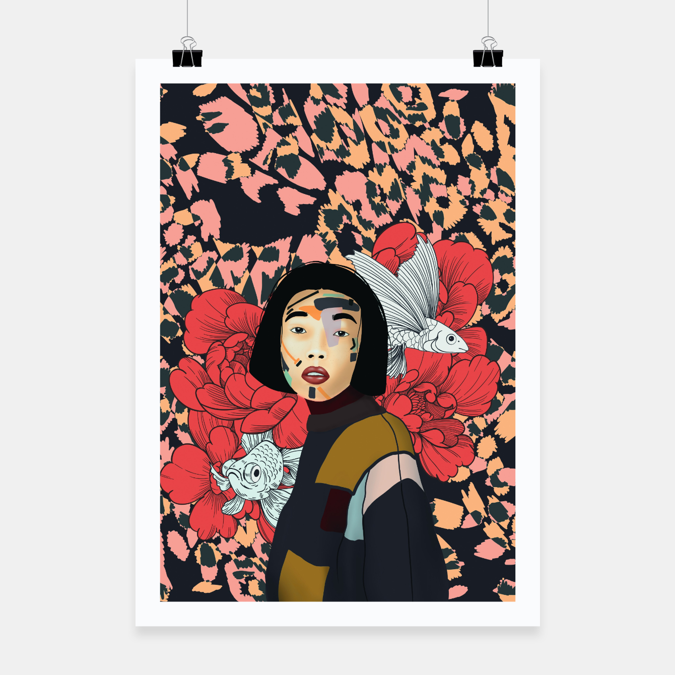 Image de Asian abstract woman Cartel - Live Heroes