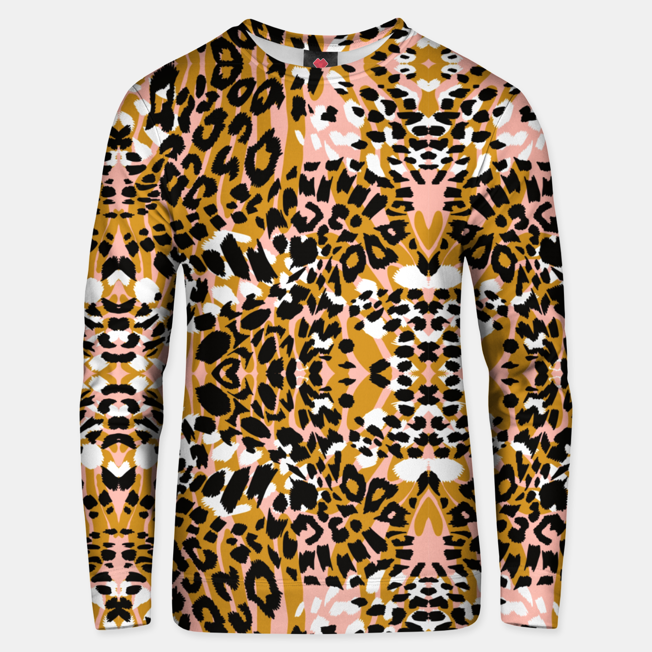Image of Abstract leopard pink 56 Sudadera unisex - Live Heroes