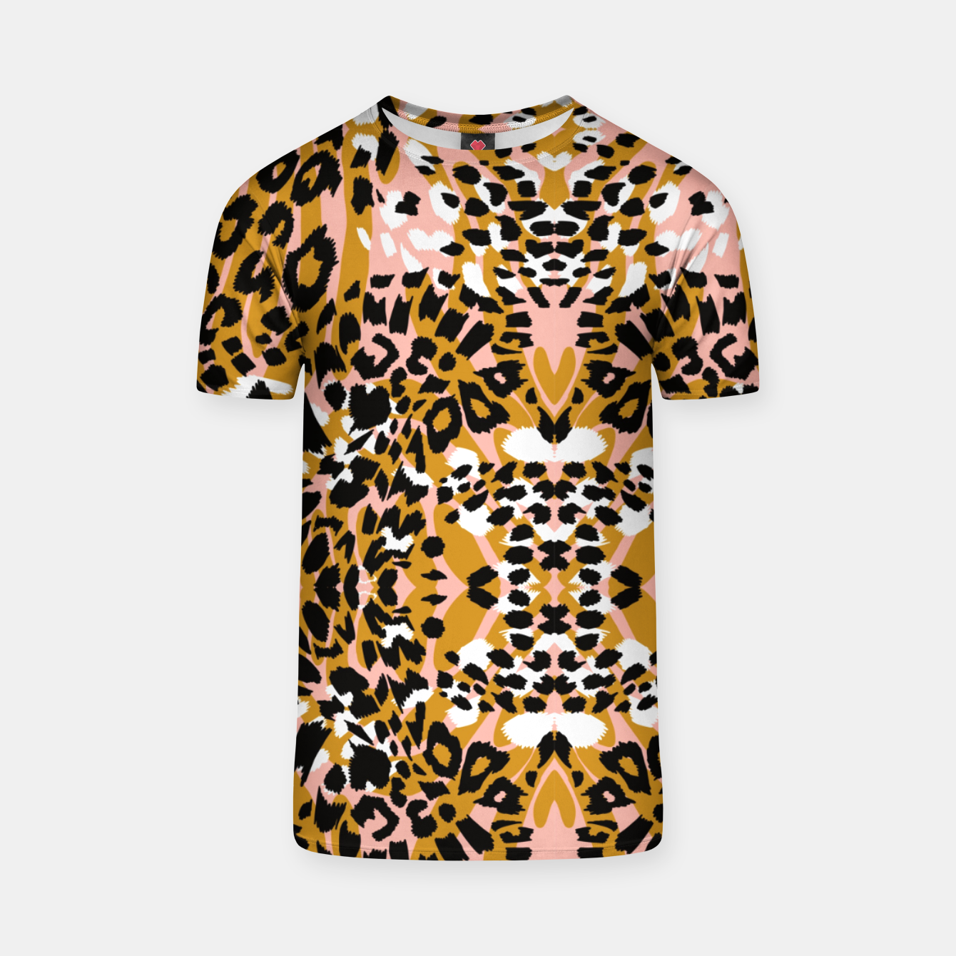 Foto Abstract leopard pink 56 Camiseta - Live Heroes