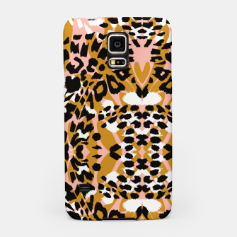 Abstract leopard pink 56 Carcasa por Samsung miniature