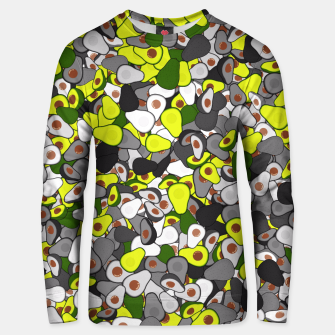 Thumbnail image of Avocado camouflage Unisex sweater, Live Heroes