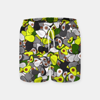 Thumbnail image of Avocado camouflage Swim Shorts, Live Heroes