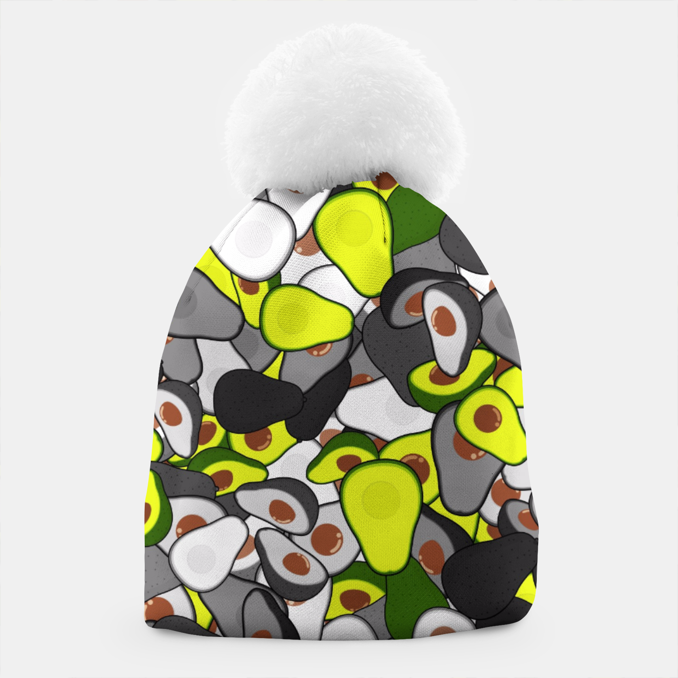 Image of Avocado camouflage Beanie - Live Heroes