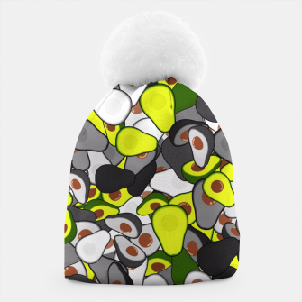 Thumbnail image of Avocado camouflage Beanie, Live Heroes