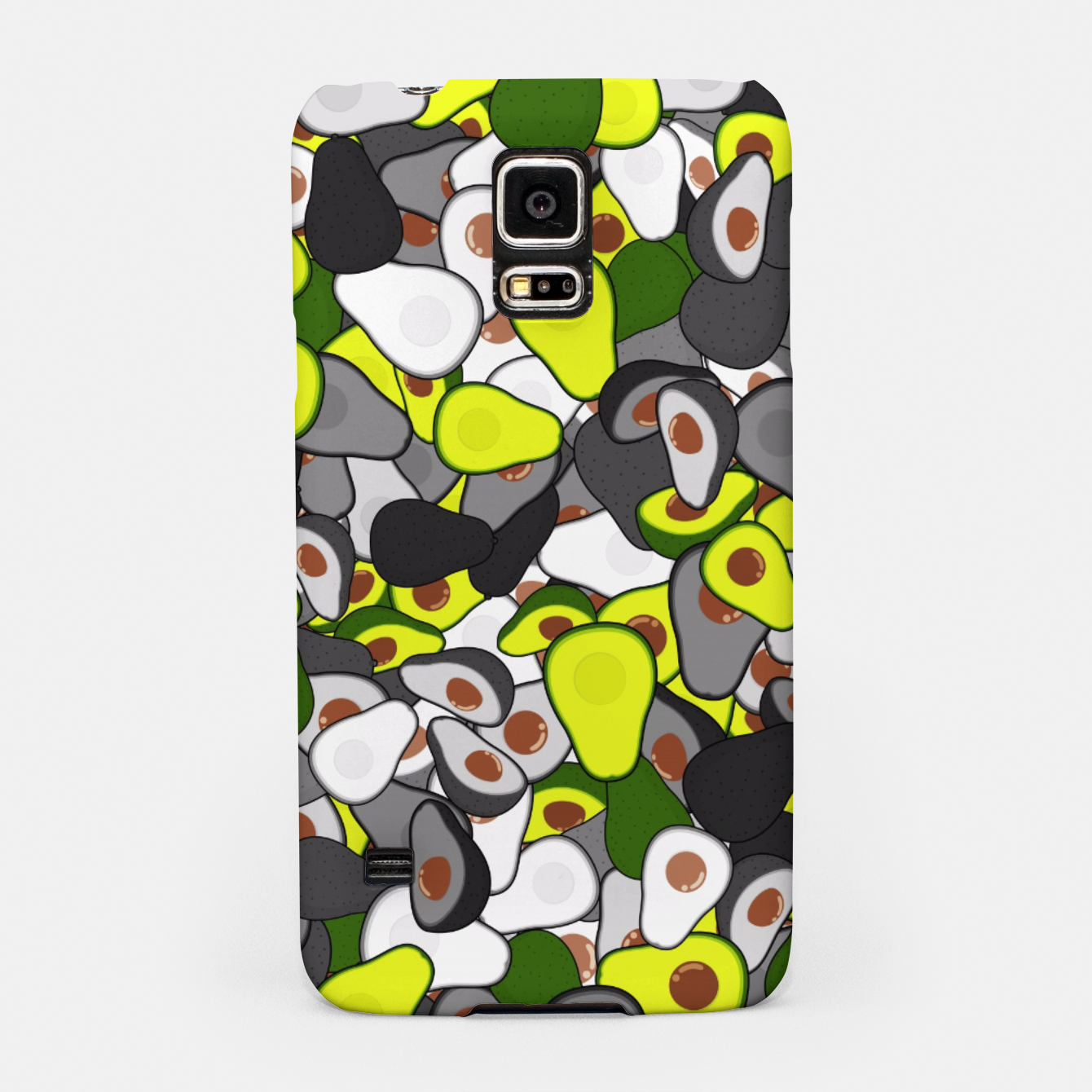 Image of Avocado camouflage Samsung Case - Live Heroes