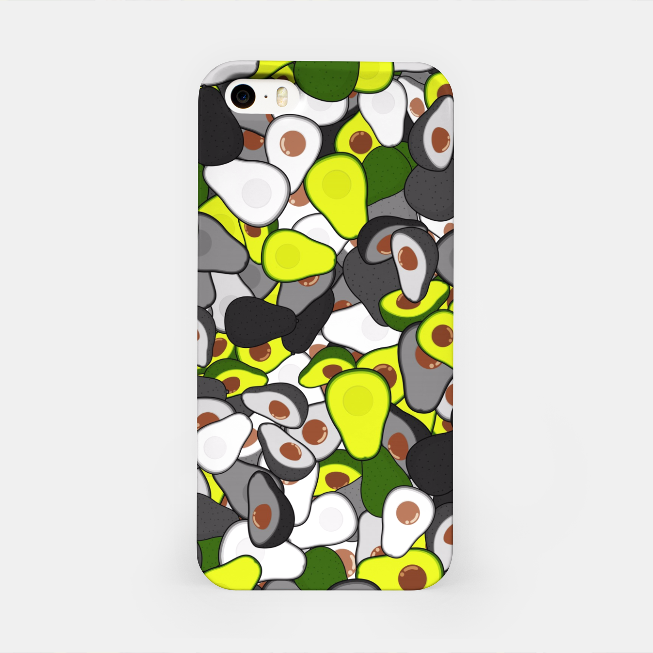 Image of Avocado camouflage iPhone Case - Live Heroes