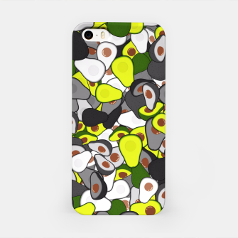 Avocado camouflage iPhone Case thumbnail image