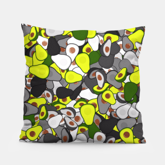 Thumbnail image of Avocado camouflage Pillow, Live Heroes