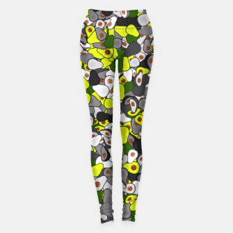 Thumbnail image of Avocado camouflage Leggings, Live Heroes