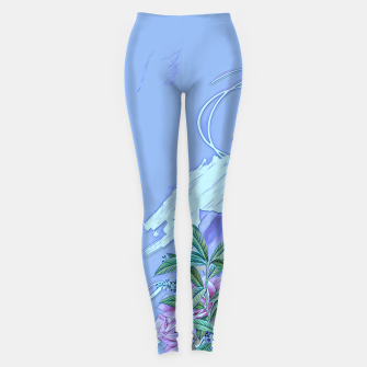 Thumbnail image of Floral lines Leggings, Live Heroes