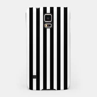 Thumbnail image of Classic Black and White Football Referee Stripes  Samsung Case, Live Heroes